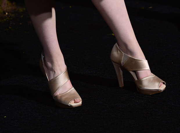 Alice Englert's shoes