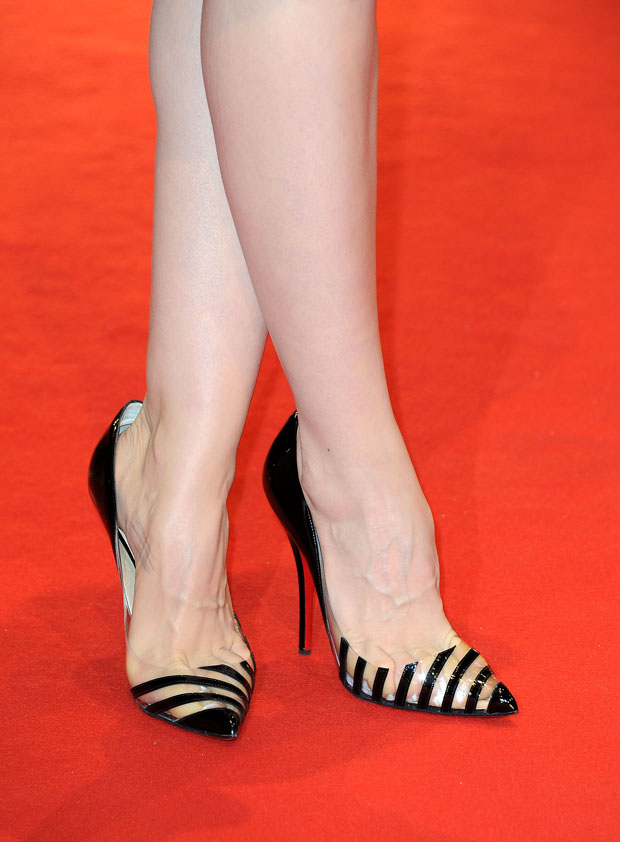 Sara Forestier's Christian Louboutin 'Pivichic' pumps