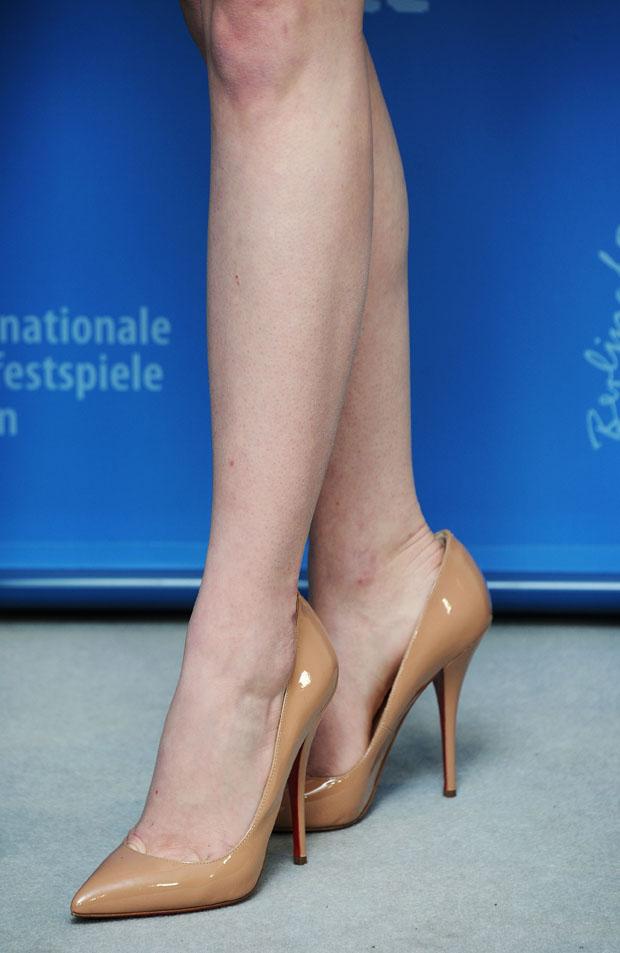 Emma Stone's Christian Louboutin pumps