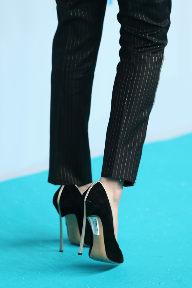 Selena Gomez' Casadei 'Blade' pumps