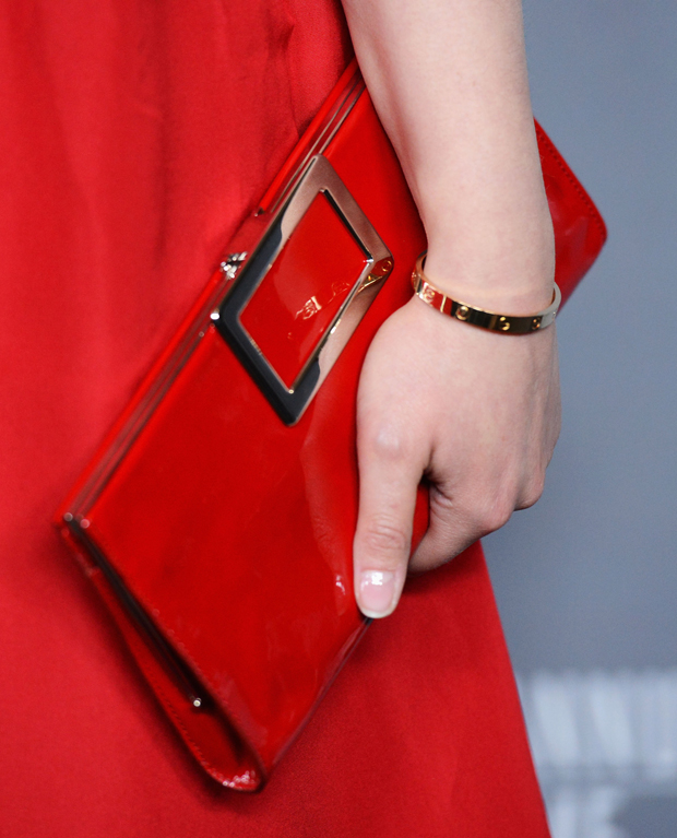 Ginnifer Goodwin's Roger Vivier clutch