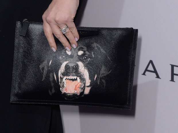 Drew Barrymore's Givenchy clutch