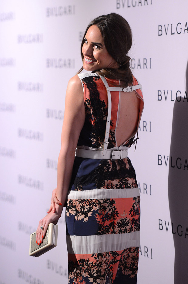 Louise Roe in BCBG Max Azria