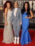 Stooshe In Craig Lawrence, Keko Hainswheeler & Roland Mouret - 2013 Brit Awards