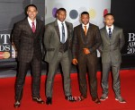JLS In Marc Wallace - 2013 Brit Awards