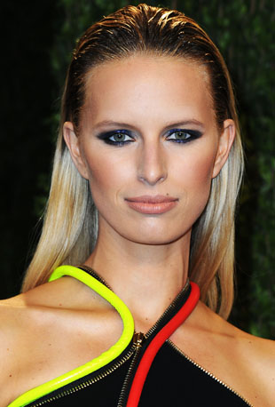 Karolina Kurkova's Vanity Fair Oscar Party Beauty Look