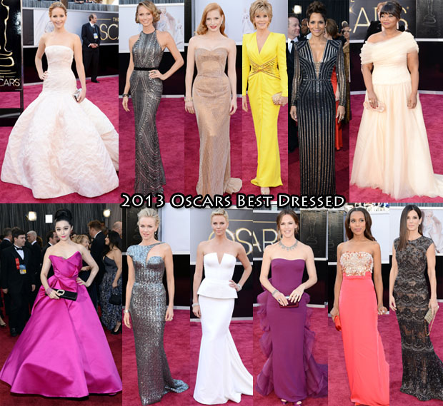 2013 Oscars Best Dressed