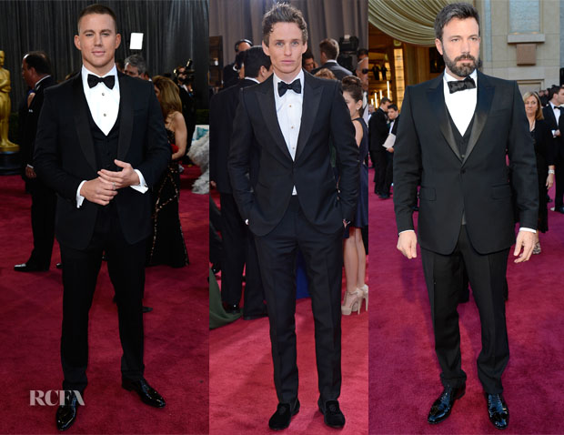 2013 Oscars Menswear Round Up