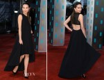 Alicia Vikander In Christian Dior - 2013 BAFTA Awards