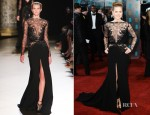 Amy Adams In Elie Saab Couture - 2013 BAFTA Awards