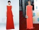 Laura Bailey In Roksanda Illinic - 2013 BAFTA Awards