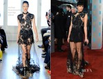 Zawe Ashton In Julien Macdonald - 2013 BAFTA Awards
