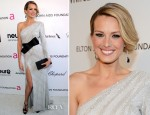Petra Nemcova In Ralph & Russo - 2013 Elton John AIDS Foundation Oscars Party