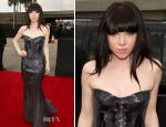 Carly Rae Jepsen In Roberto Cavalli - 2013 Grammy Awards