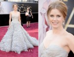 Amy Adams In Oscar de la Renta - 2013 Oscars