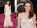 Kristen Stewart In Reem Acra - 2013 Oscars