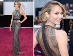 Stacy Keibler In Naeem Khan - 2013 Oscars