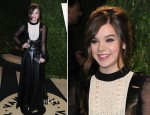 Hailee Steinfeld In Valentino - 2013 Vanity Fair Party