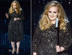Adele In Burberry - 2013 Oscars Performance