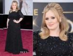 Adele In Jenny Packham – 2013 Oscars