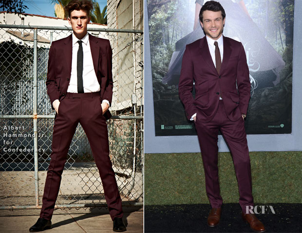 Alden Ehrenreich In Albert Hammond Jr for Confederacy - 'Beautiful Creatures' LA Premiere