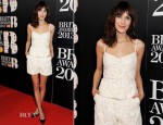 Alexa Chung In Valentino - 2013 Brit Awards