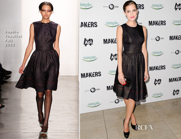 Allison Williams In Sophie Theallet - 'MAKERS Women Who Make America' New York Premiere