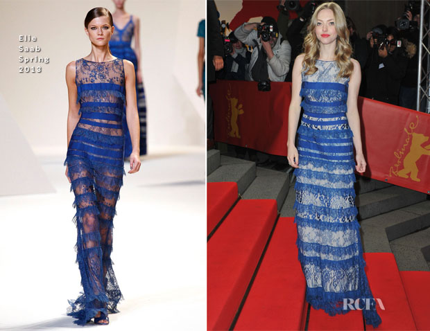 Amanda Seyfried In Elie Saab - 'Lovelace' Berlin Film Festival Premiere