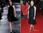 Amanda Seyfried In Nina Ricci - 'Les Miserables' Berlin Film Festival Premiere