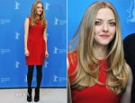 Amanda Seyfried In Roksanda Ilincic - 'Lovelace' Berlin Film Festival Photocall