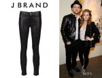 Amy Adams' J Brand Leather Leggings