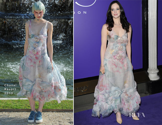Andrea Riseborough In Chanel - EE British Academy Film Awards Nominees Party