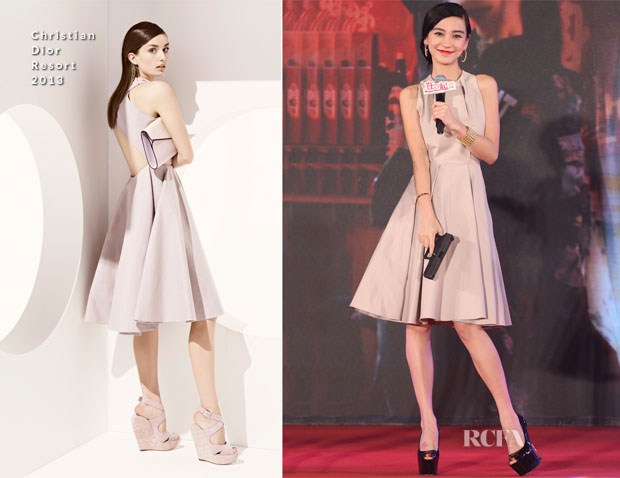 designer fashion d6aae c672a Angelababy In Christian Dior - 'Together' Beijing Premiere ...