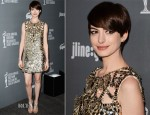 Anne Hathaway In Gucci - 15th Annual Costume Designers Guild Awards