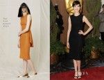 Anne Hathaway In The Row - 85th Academy Awards Nominations Luncheon