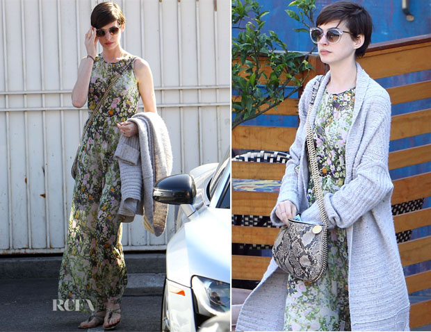 Anne Hathaway In Madwell - Out In LA