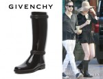 Anne Hathaway's Givenchy Rain Boots