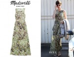 Anne Hathaway's Madewell 'Sungarden' Maxidress