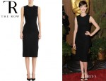 Anne Hathaway's The Row 'Dorning' Dress