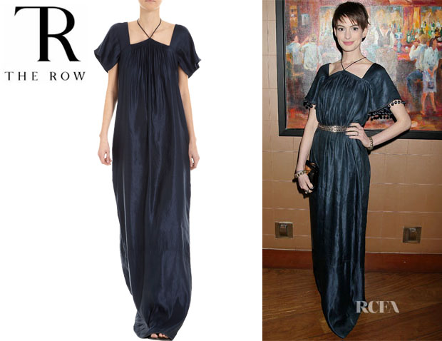 Anne Hathaway's The Row 'Maud' Dress