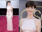Anne Hathaway In Prada – 2013 Oscars