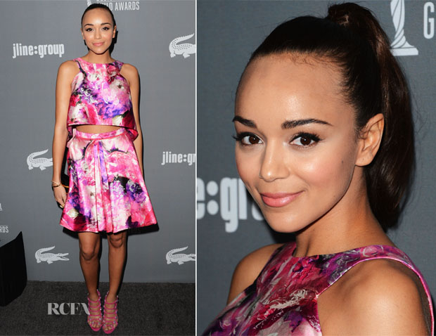 Ashley Madekwe In J Mendel - 15th Annual Costume Designers Guild Awards
