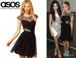 Ashley Tisdale' ASOS Skater Dress