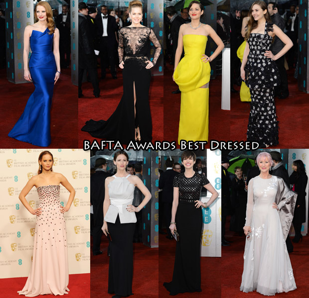 BAFTA Awards Best Dressed