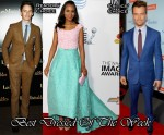 Best Dressed Of The Week - Kerry Washington In Oscar de la Renta, Eddie Redmayne In Topman and Josh Duhamel In Ralph Lauren