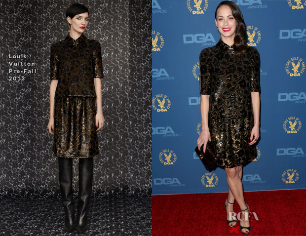 Bérénice Bejo In Louis Vuitton - 2013 DGA Awards