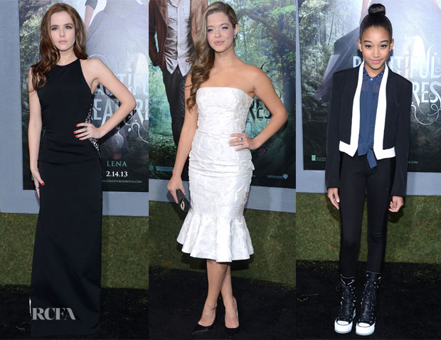 Beautiful Creatures LA Premiere Red Carpet Round Up