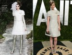 Bella Heathcote In Chanel Couture - 2013 Vanity Fair Party