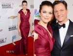 Bellamy Young In J. Mendel - 2013 NAACP Image Awards
