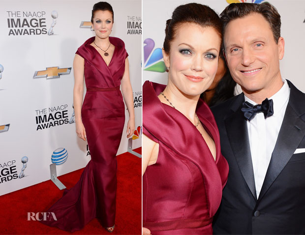 Bellamy Young In J Mendel - 2013 NAACP Image Awards